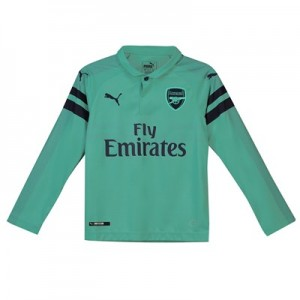 Arsenal Third Shirt 2018-19 - Kids - Long Sleeve