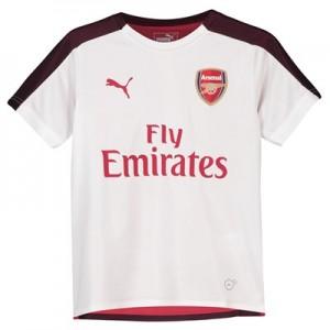 Arsenal Training Stadium Jersey - White - Kids