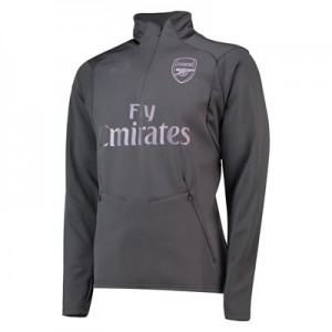 Arsenal Training Fleece - Grey