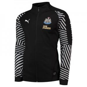 Newcastle United Training Stadium Jacket - Black