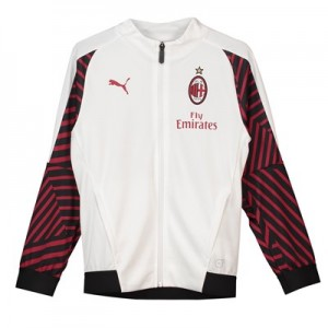 AC Milan Training Stadium Jacket - White - Kids
