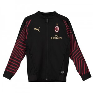 AC Milan Training Stadium Jacket - Black - Kids