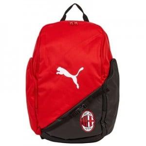 AC Milan Liga Back Pack - Red - Black