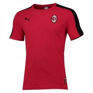 AC Milan T7 T-Shirt - Red