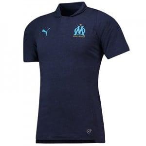 Olympique de Marseille Casuals Polo - Dark Blue