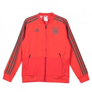 FC Bayern Training Presentation Jacket - Red - Kids