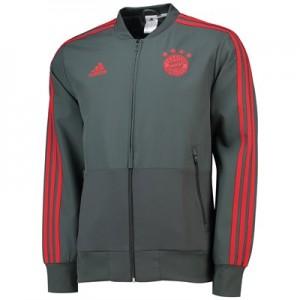 FC Bayern Training Presentation Jacket - Dark Green