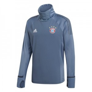 FC Bayern UCL Training Warm Top - Grey