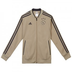 Ajax Training Knitted Presentation Jacket - Gold - Kids