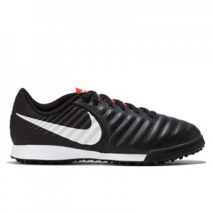 Nike TiempoX Legend 7 Academy Astroturf Trainers - Black/Red - Kids