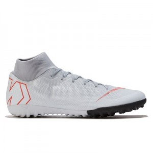 Nike MercurialX Superfly 6 Academy Astroturf Trainers - Grey