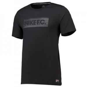 Nike FC Seasonal Block T-Shirt - Black