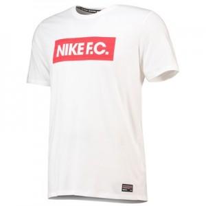 Nike FC Seasonal Block T-Shirt - White