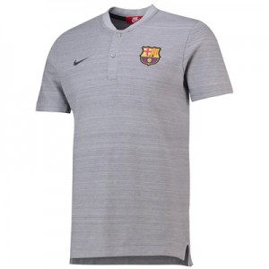 Barcelona Authentic Grand Slam Polo - Grey