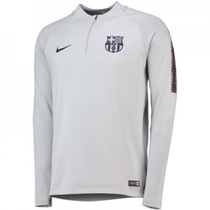 Barcelona Squad Drill Top - Grey