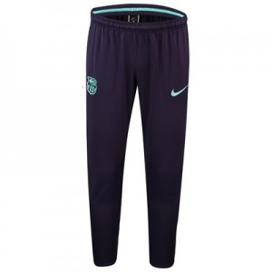 Barcelona Squad Training Pants - Purple