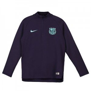 Barcelona Squad Drill Top - Purple - Kids