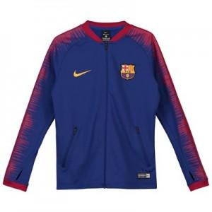 Barcelona Anthem Jacket - Royal Blue - Kids