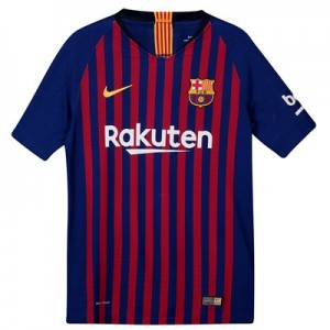 Barcelona Home Vapor Match Shirt 2018-19 - Kids