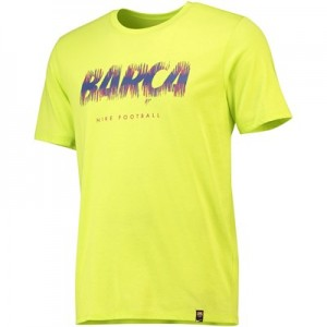 Barcelona Pre Season T-Shirt - Yellow