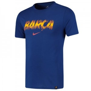 Barcelona Pre Season T-Shirt - Royal Blue