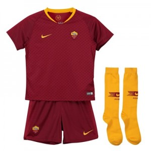 AS Roma Home Stadium Kit 2018-19 - Little Kids