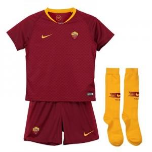 AS Roma Home Stadium Kit 2018-19 - Little Kids