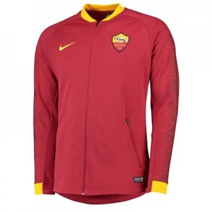 AS Roma Anthem Jacket - Red