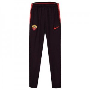 AS Roma Squad Training Pants - Burgundy - Kids