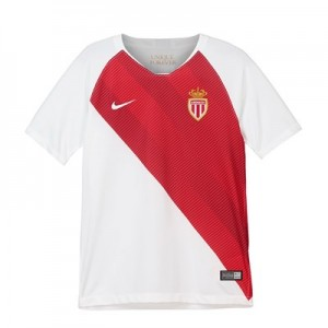 AS Monaco Home Stadium Shirt 2018-19 - Kids