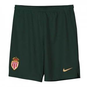 AS Monaco Away Stadium Shorts 2018-19 - Kids