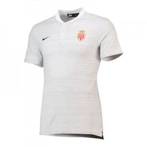 AS Monaco Authentic Grand Slam Polo - White