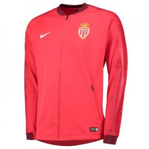 AS Monaco Anthem Jacket - Red