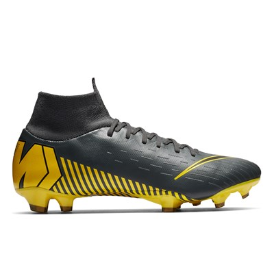 Nike Mercurial Superfly 6 Pro Firm Ground Football Boots - Grey