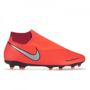 Nike Phantom Vision Academy Dynamic Fit Multi-Ground Football Boots - Red