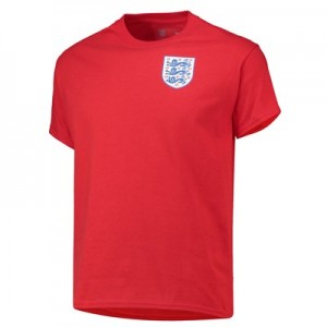 England Crest Red T Shirt