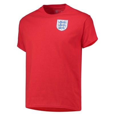 England Crest Red T Shirt
