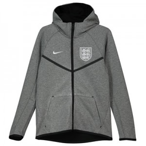 England Tech Fleece Authentic Windrunner Jacket - Grey - Kids