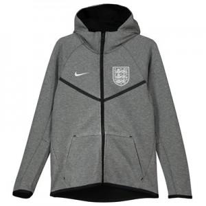 England Tech Fleece Authentic Windrunner Jacket - Grey - Kids