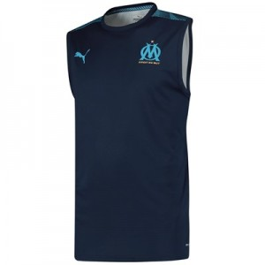 Olympique de Marseille Sleeveless Training Jersey - Dark Blue