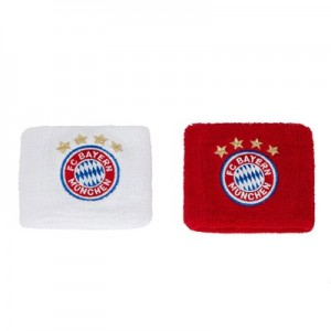 FC Bayern Wristbands - Red