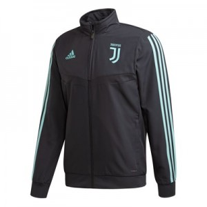 Juventus UCL Training Presentation Jacket - Grey