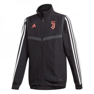 Juventus Pre Match Jacket - Black - Kids