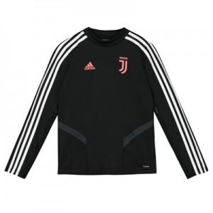 Juventus Training Top - Black - Kids