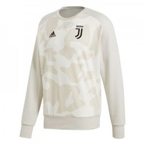 Juventus Seasonal Crew Sweat - White Camo