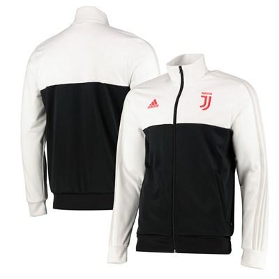 Juventus 3 Stripe Track Top - White