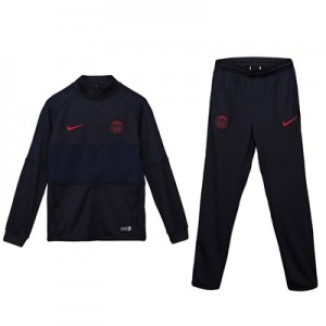 Paris Saint-Germain Strike Training Tracksuit - Grey - Kids
