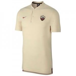 AS Roma Authentic Grand Slam Polo - Cream