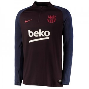 Barcelona Strike Training Drill Top - Red