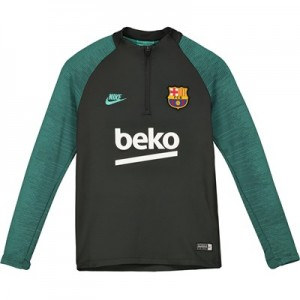 Barcelona Strike Training Drill Top - Grey - Kids